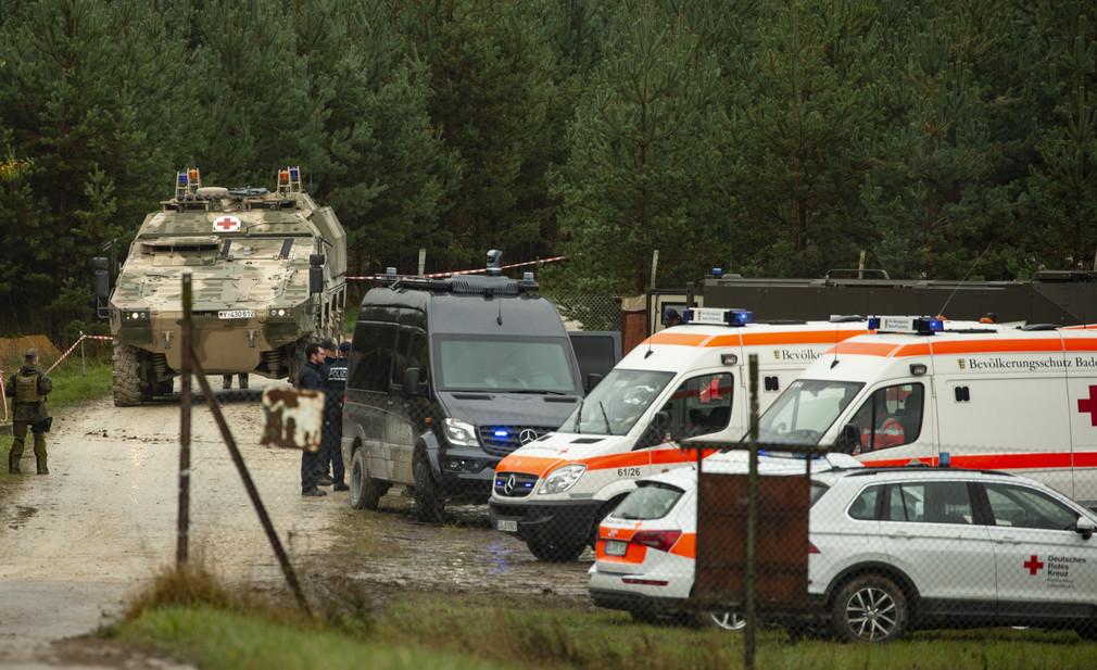 Bundeswehr und Bevölkerungsschutz sind an der Übung beteiligt.
