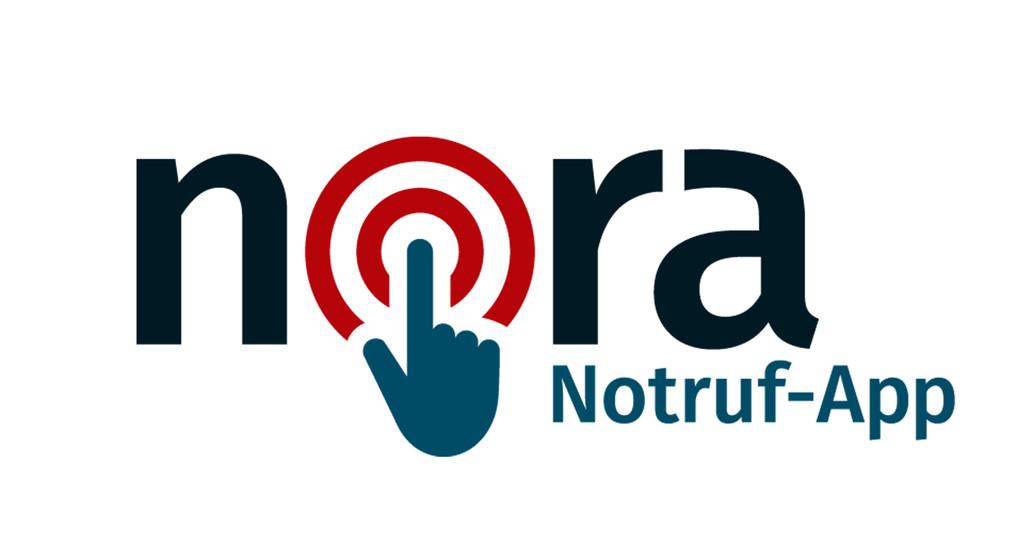 Logo der nora Notruf App, Urheber: Ministerium des Innern des Landes Nordrhein-Westfalen