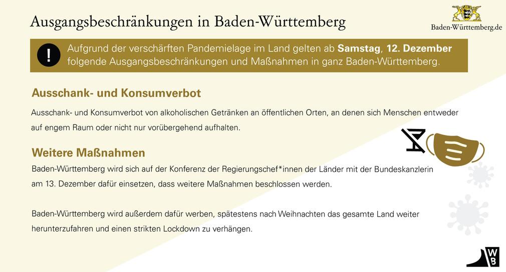 Corona Verordnung Gaststätten Baden Württemberg